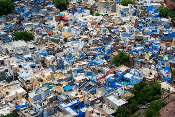 Blue city of Jodhpur, Rajhastan