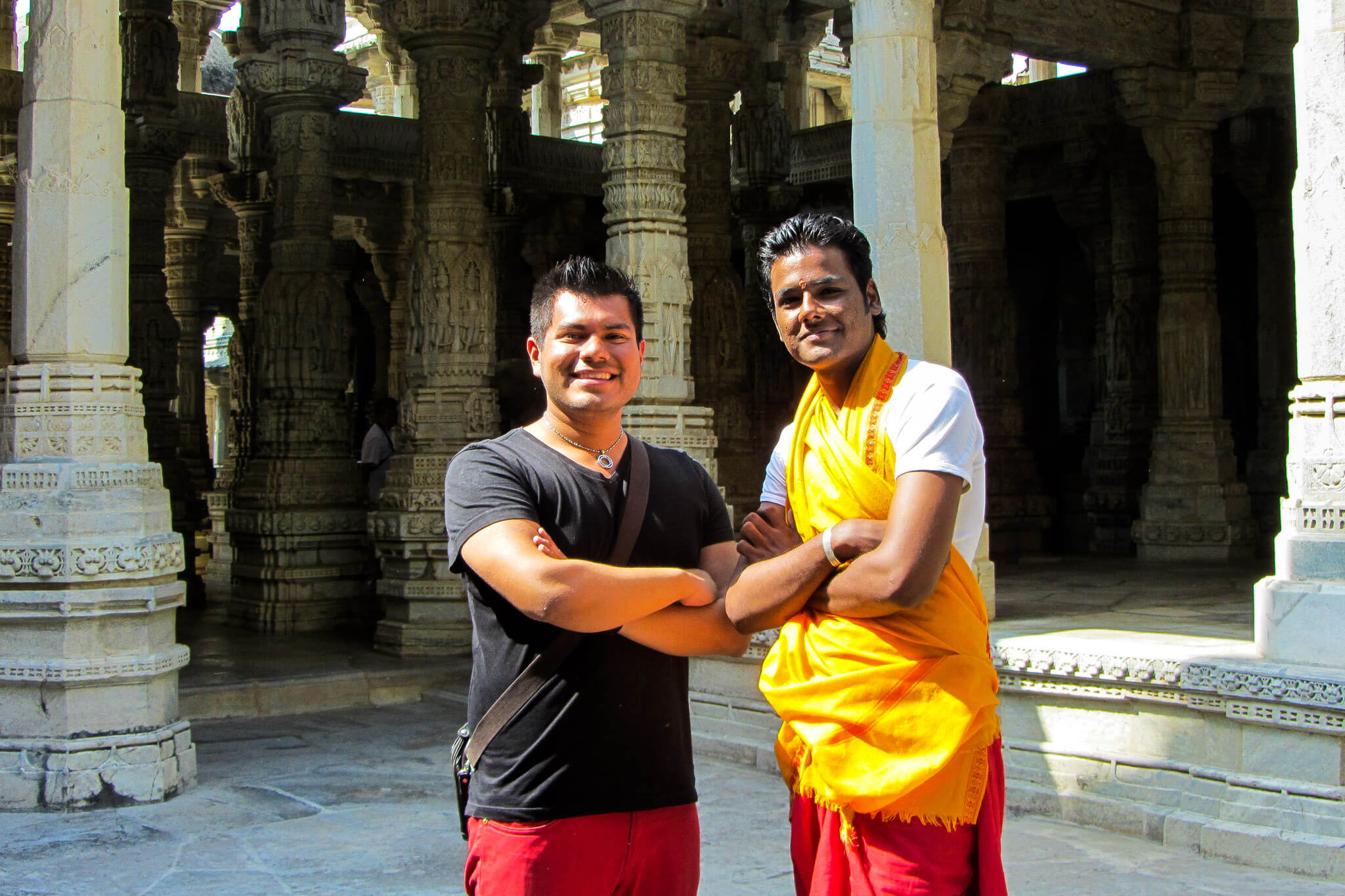 Me hanging out with my Jain brother