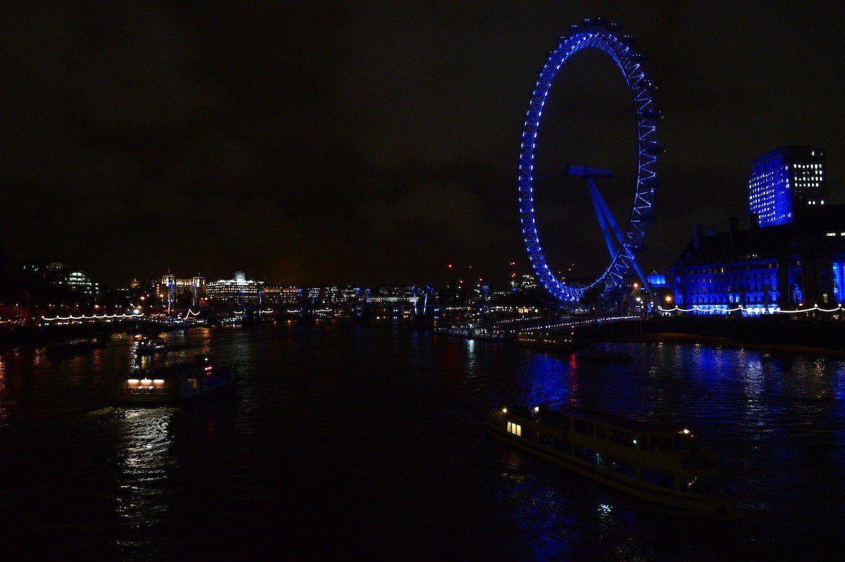 The London Eye by Night