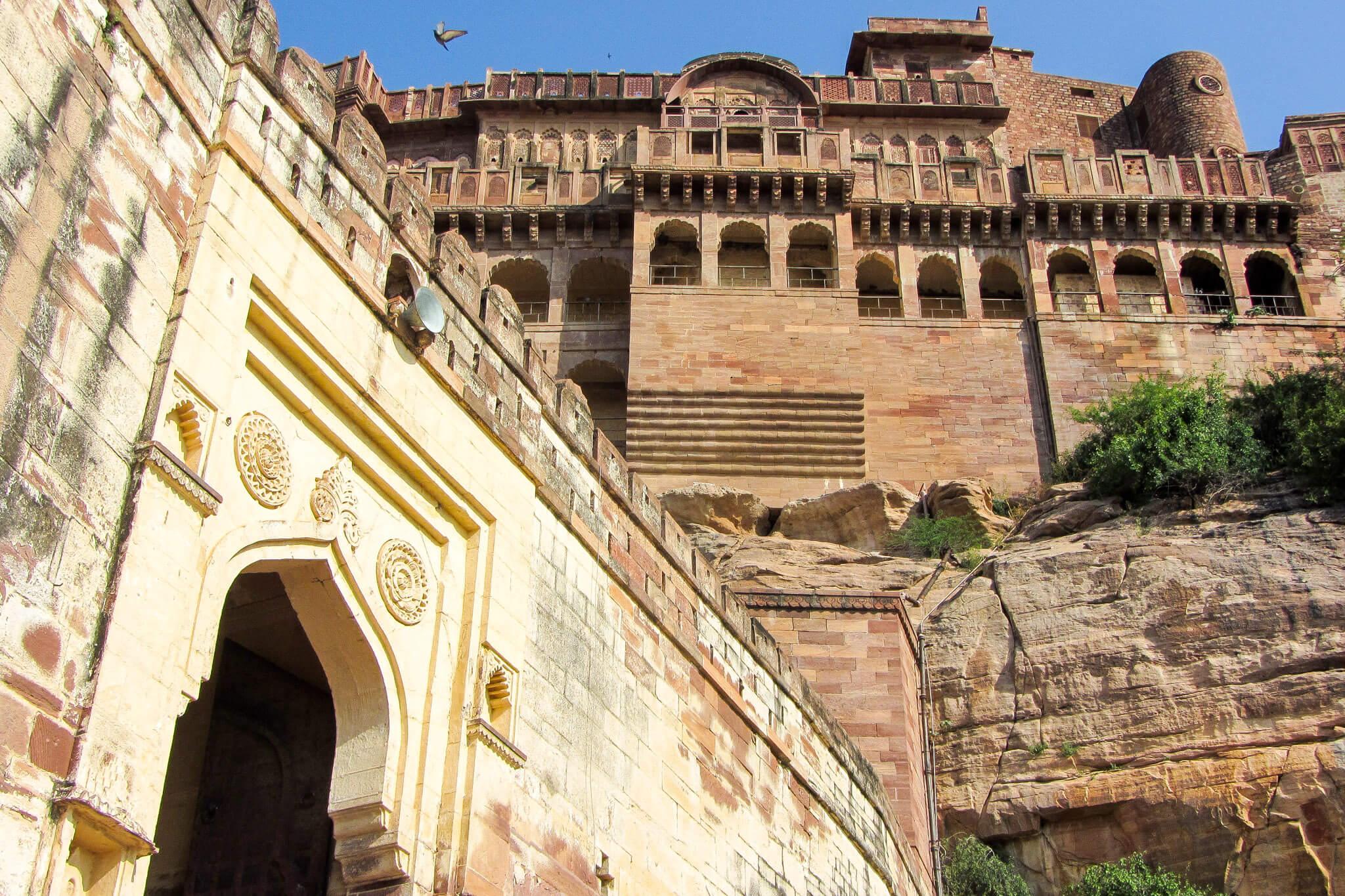 The big bad fortress of Jodphur