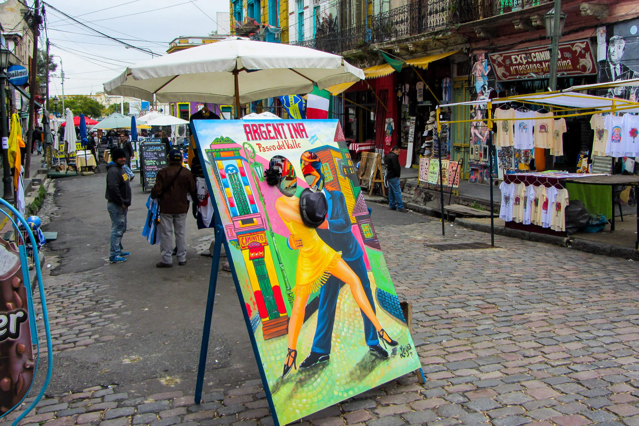 The colors of Buenos Aires