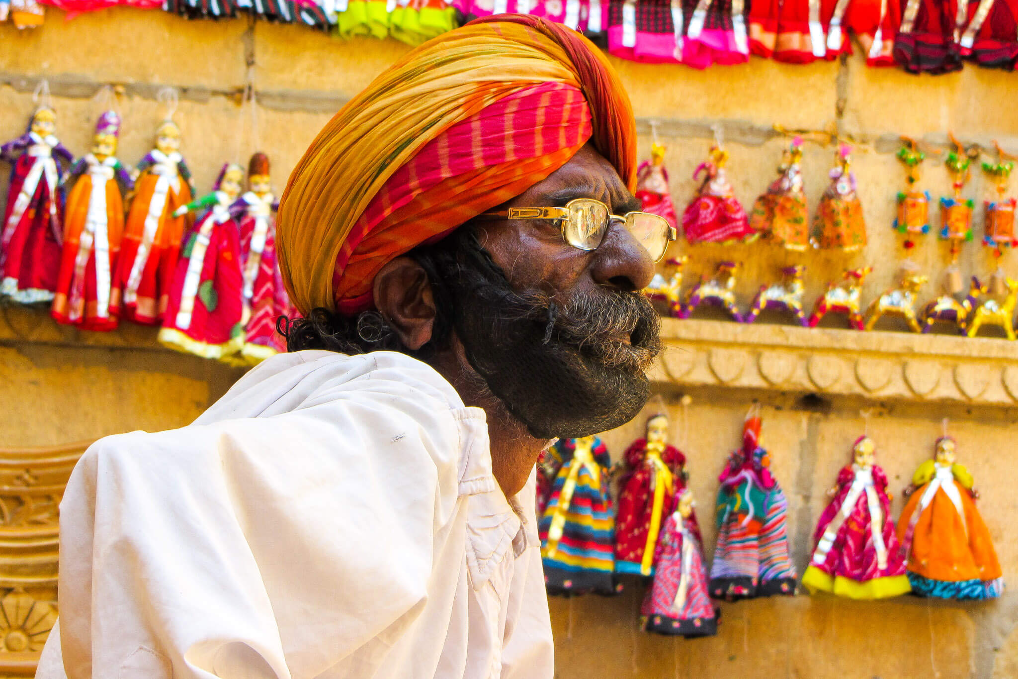 The vendors of Rajasthan