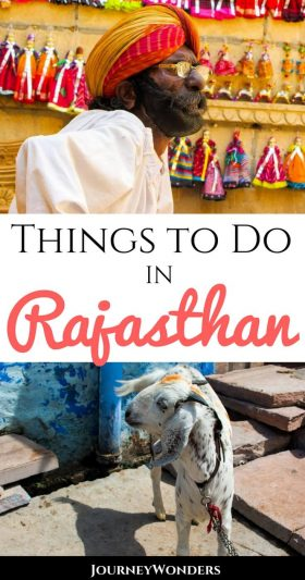 Rajasthan, India is famous for its temples, palaces, and beautiful architecture -- and also its proximity to the desert. All the best things to do in Rajasthan and why you need to travel there while in #India #Asia #Rajasthan #TravelTips