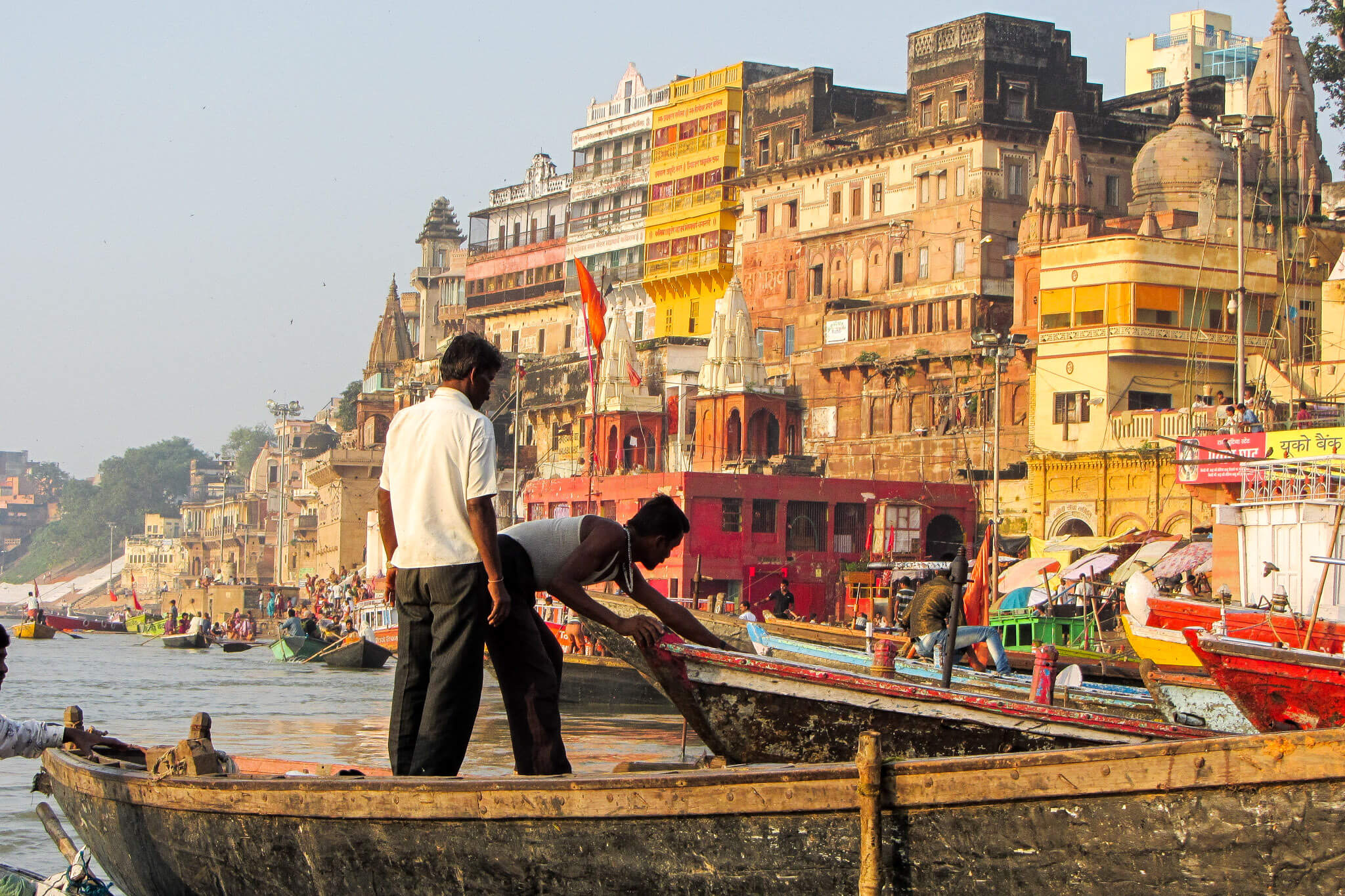 Varanasi, the most holy city for Hindus