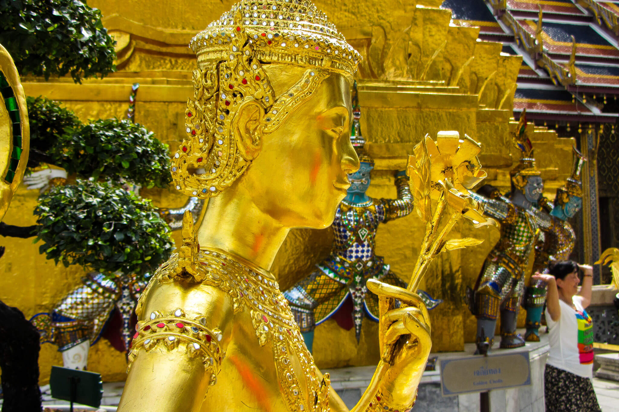 Inside the Royal Palace of Bangkok