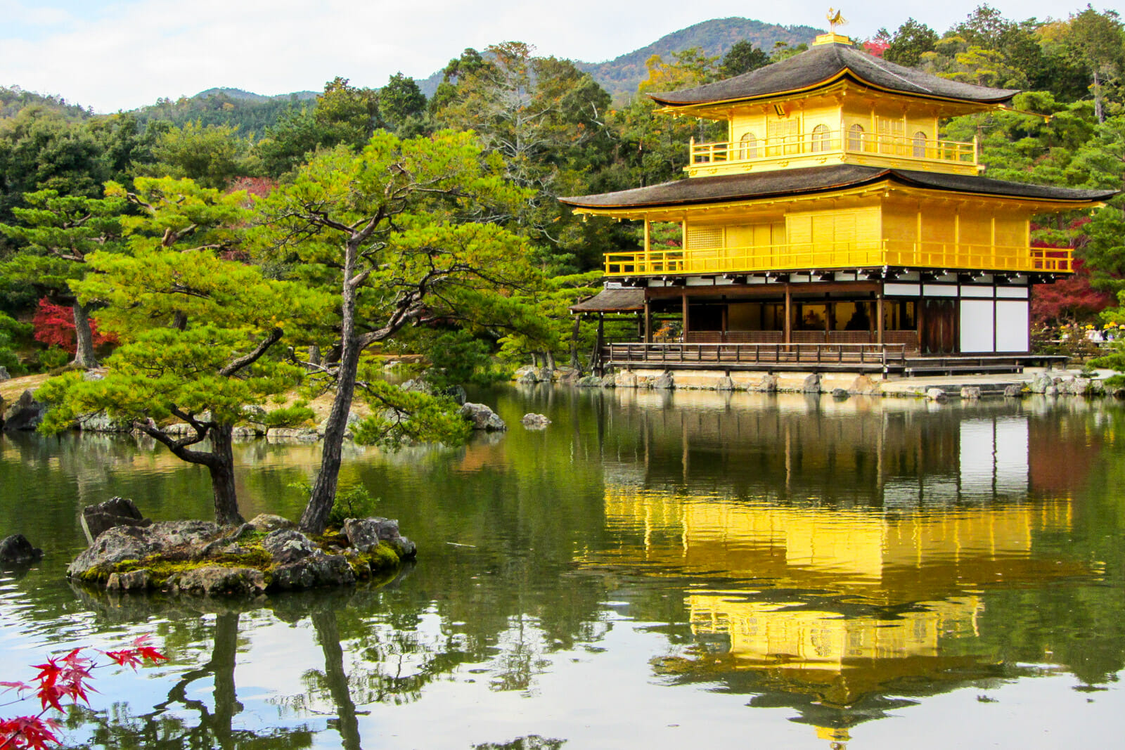 The Golden Temple of Kyoto, Japan