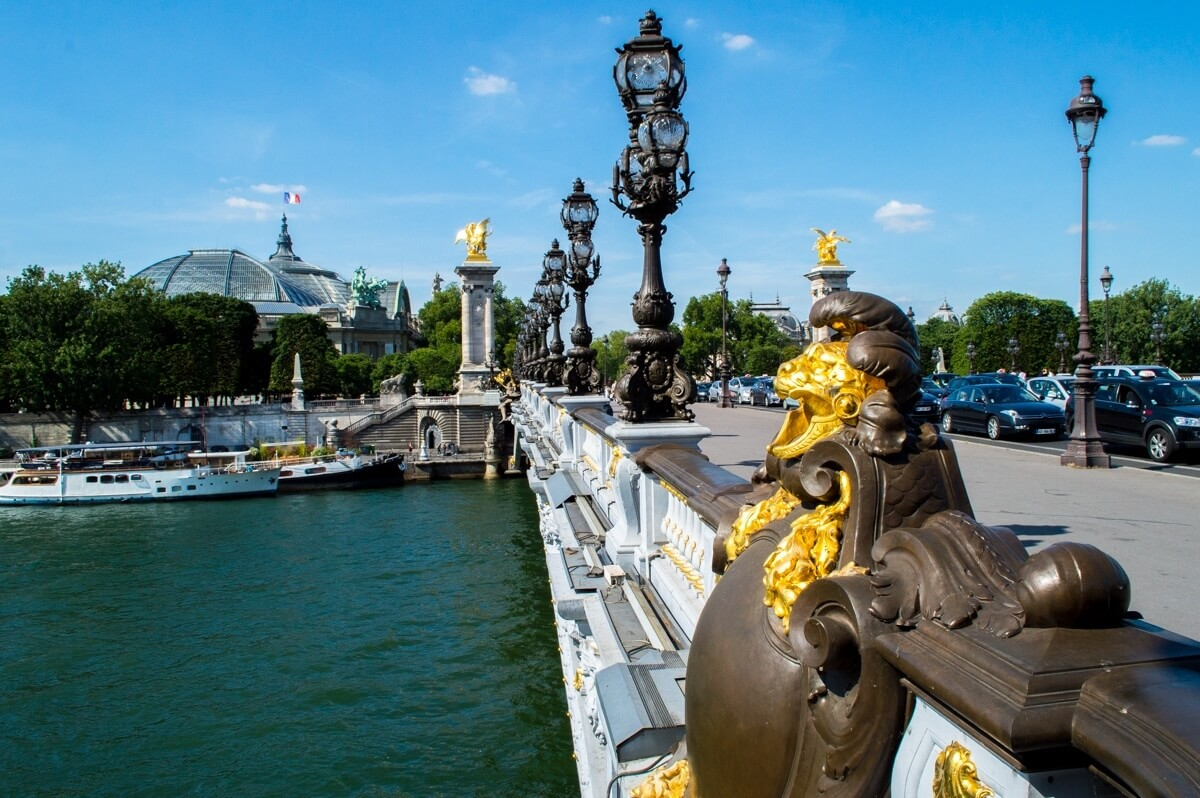 Pont Alexandre. Paris, City of Love