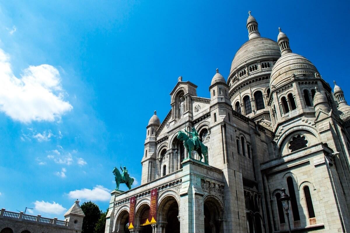 Sacre Coeur In Paris City Of Love