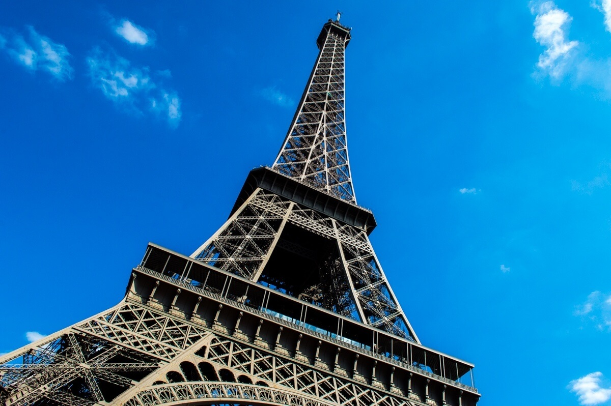 The Eiffel Tower at Paris, the City of Love