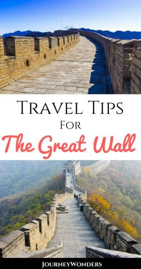 The Great Wall of China is a bucket list must for a reason. How to get to the Great Wall from Beijing, day trip ideas, hiking and trekking opportunities, the best photography & Instagram spots, and more.