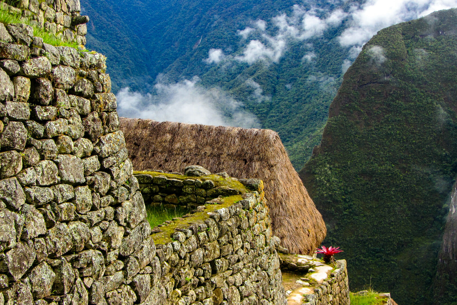 The Inca Ruins at Peru