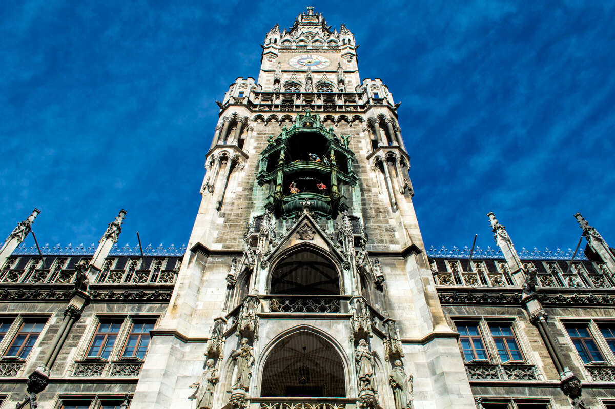 The Town Hall of Munich