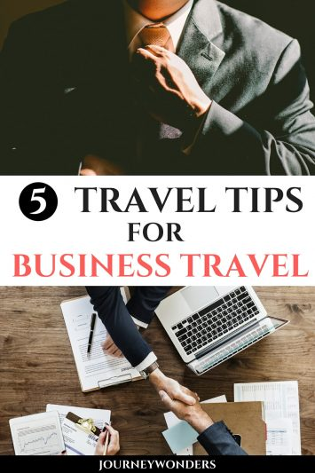 5 Travel Tips for Business Travel