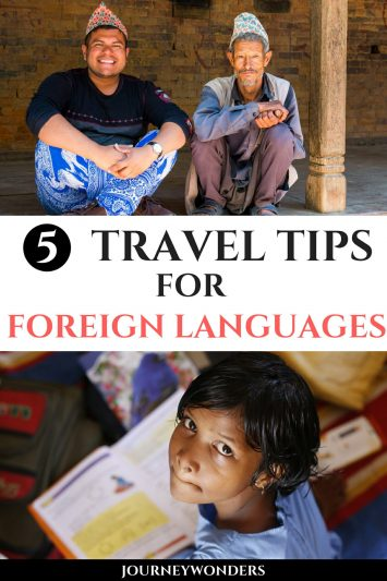 5 Travel Tips for Learning a New Language