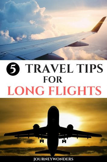 5 Travel Tips for Long Flights