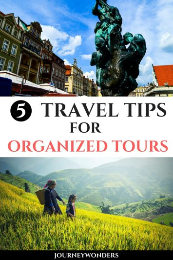 5 Travel Tips for Organized Tours