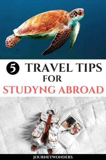 5 Travel Tips for Studying Abroad
