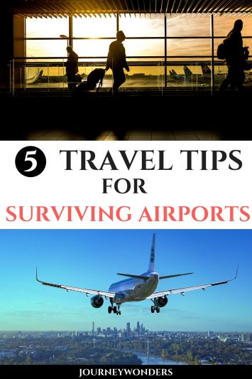 5 Travel Tips for Surviving Airports