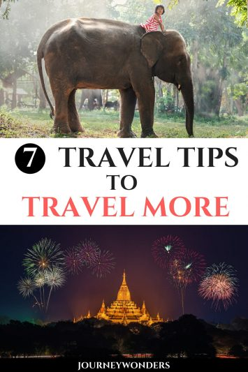 7 Travel Tips to Travel More
