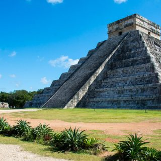 Chichen Itza, one of the 7 Wonders of the World