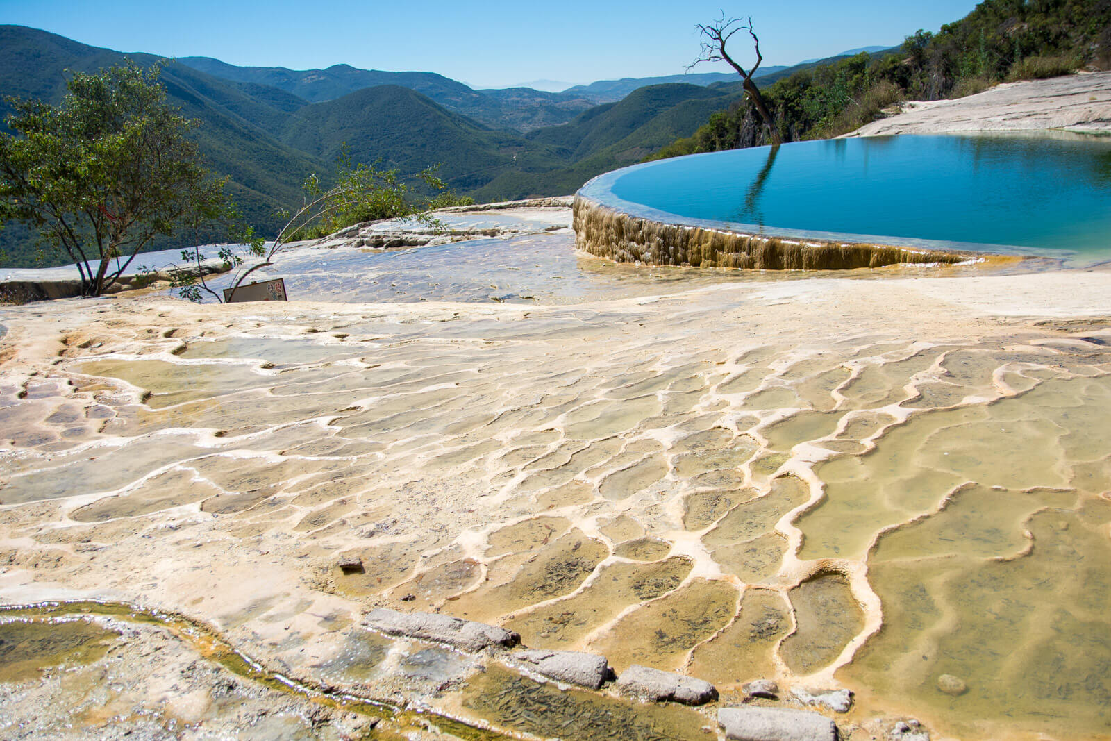 Hierve el Agua, Oaxaca, a wonderful daytrip from Oaxaca