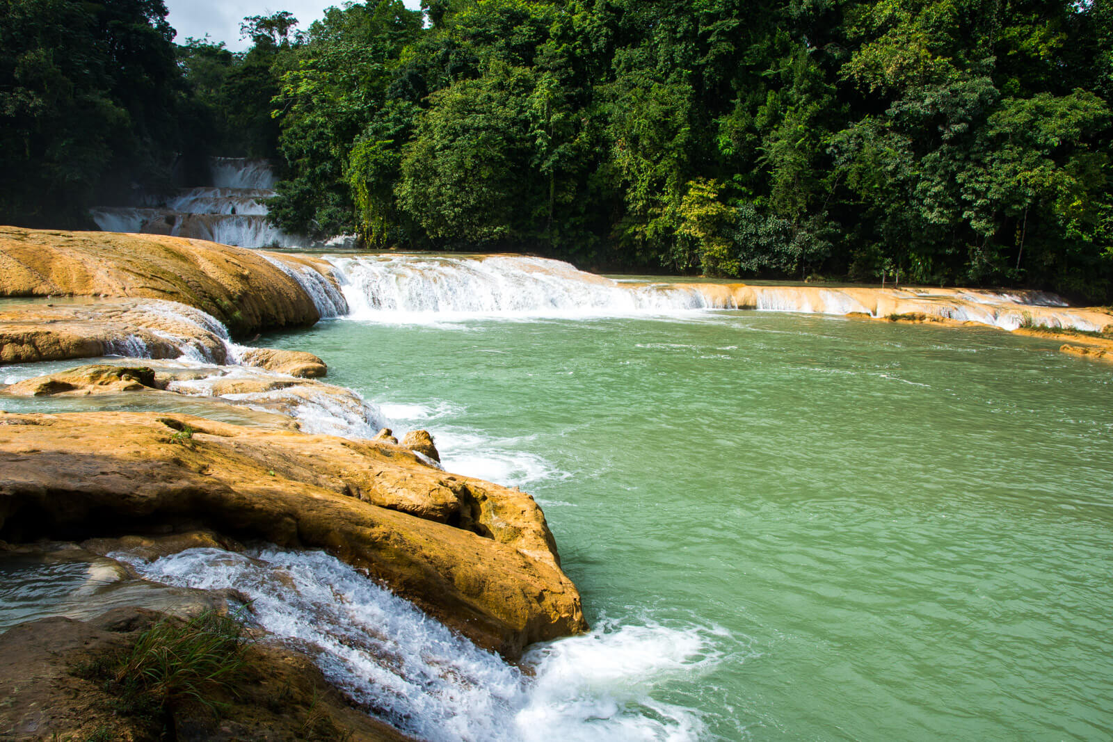 The Agua Azul Waterfalls of Chiapas