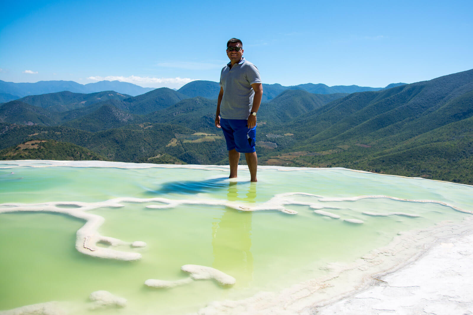 The Man of Wonders at Hierve el Agua