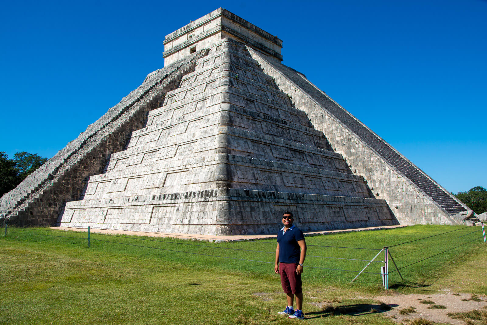 The Man of Wonders at his second home aka Chichen Itza