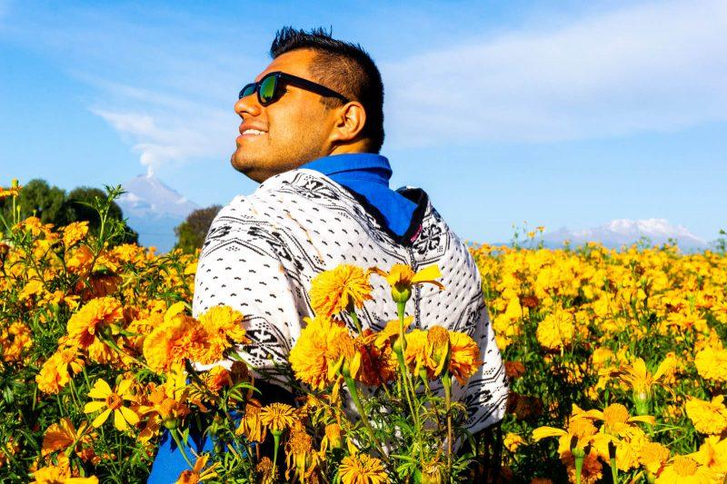 The Man of Wonders in Cholula, Puebla
