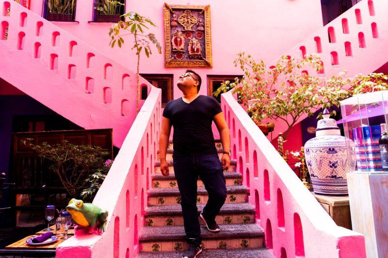 The Man of Wonders in Puebla City