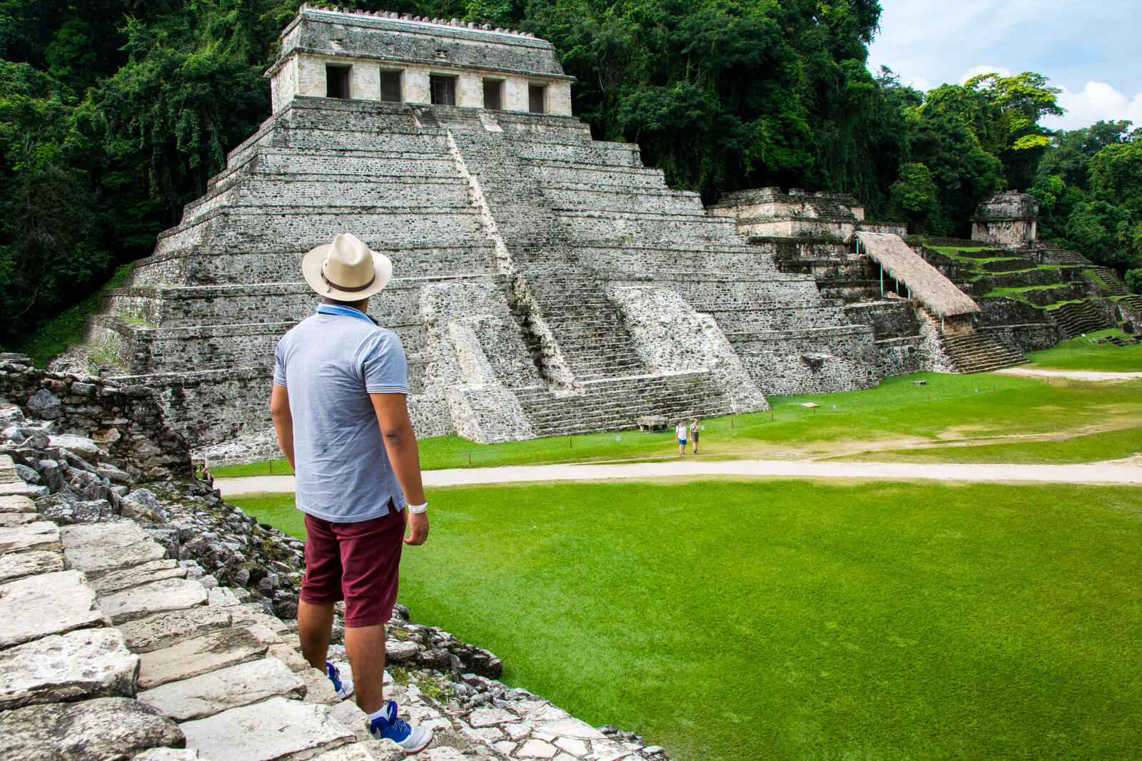 The Mayan Pyramids of Palenque