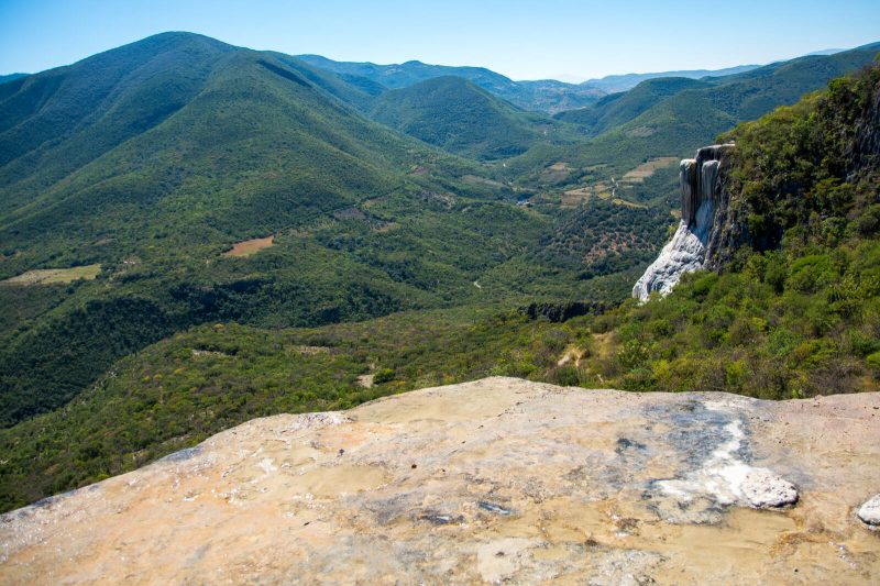 The Petrified Waterfalls of Hierve el Agua