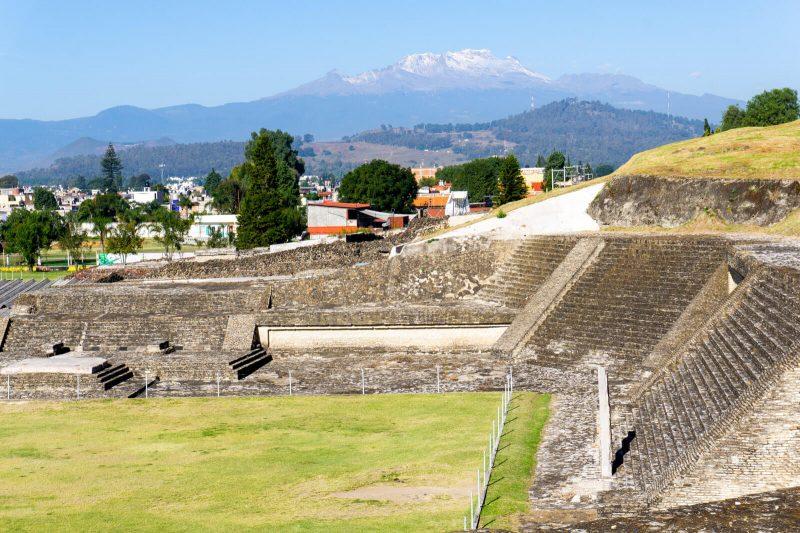 The Pyramid of Cholula, Puebla
