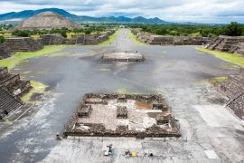 The Teotihuacan Pyramids of Mexico