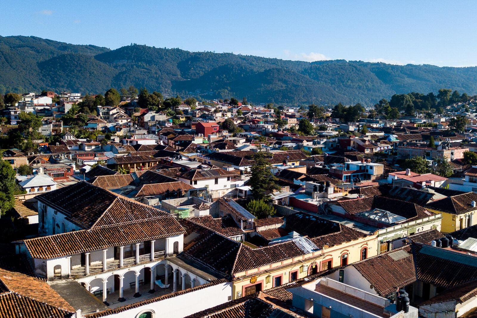 The magical town of San Cristobal de las Casas, Chiapas