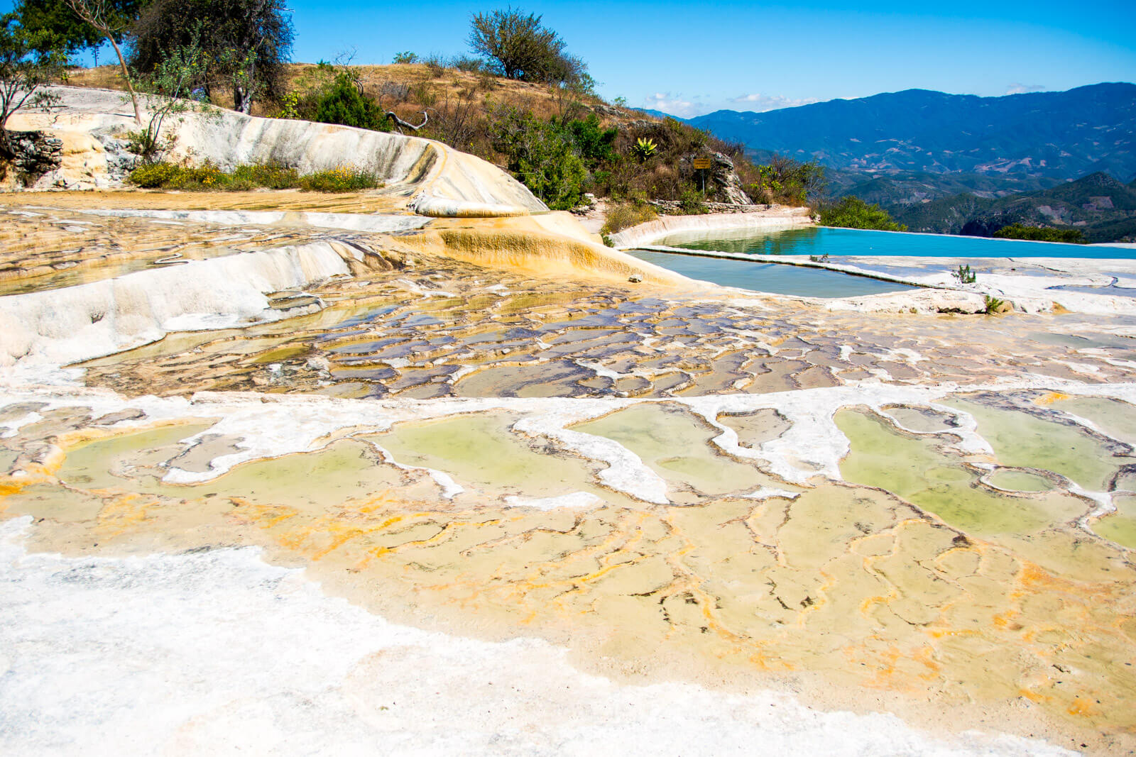 The natural wonders of Hierve el Agua, Oaxaca