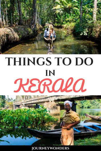 Things to Do and See in Kerala