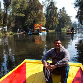 The Man of Wonders at Xochimilco