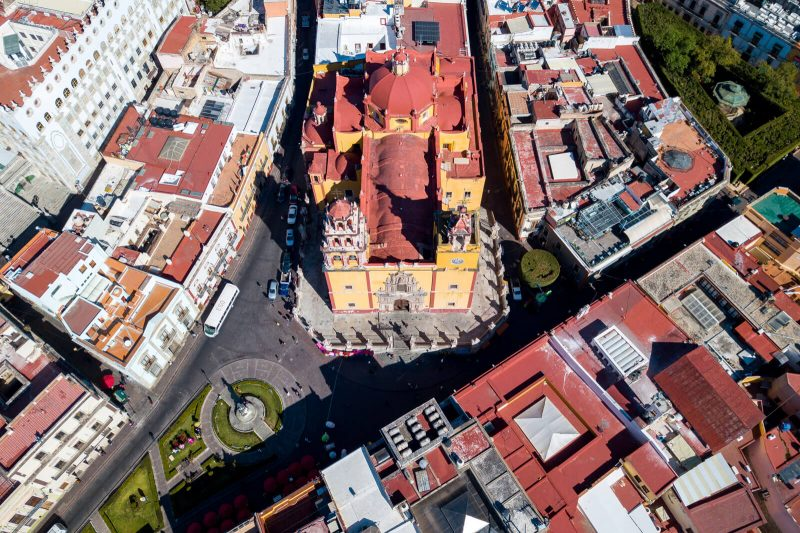 A different view of Guanajuato City as seen from the Drone of Wonders