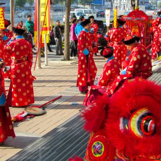 A group of Chinese Dragons
