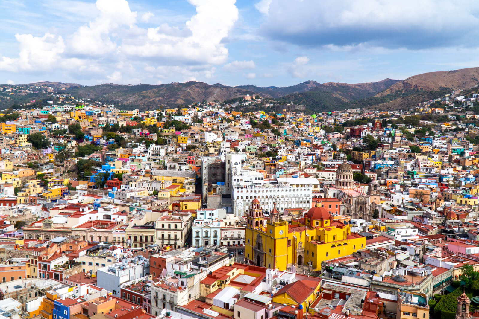 Guanajuato City as seen from the Pipila Lookout