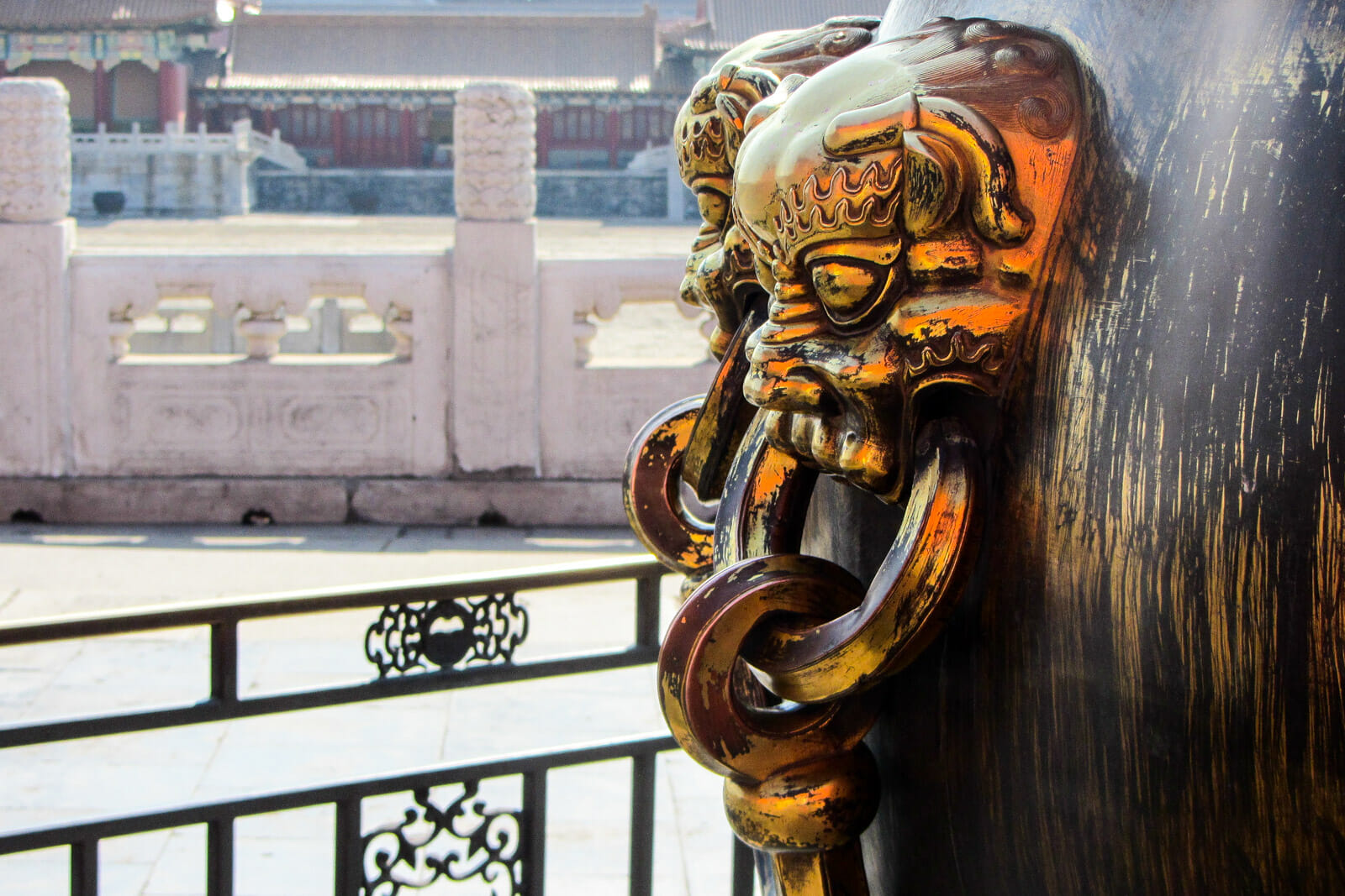 Inside the Forbidden City of Beijing