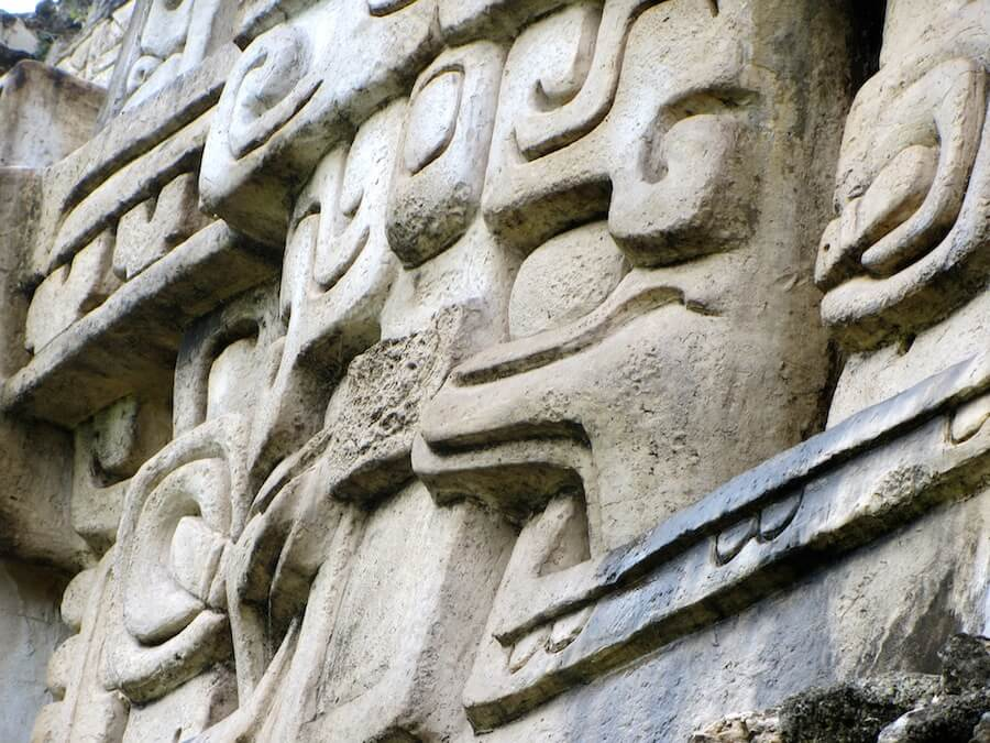Mayan God of Rain, Xunantunich