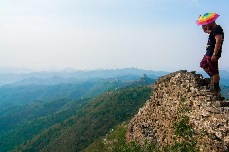 The Man of Wonders at the Great Wall