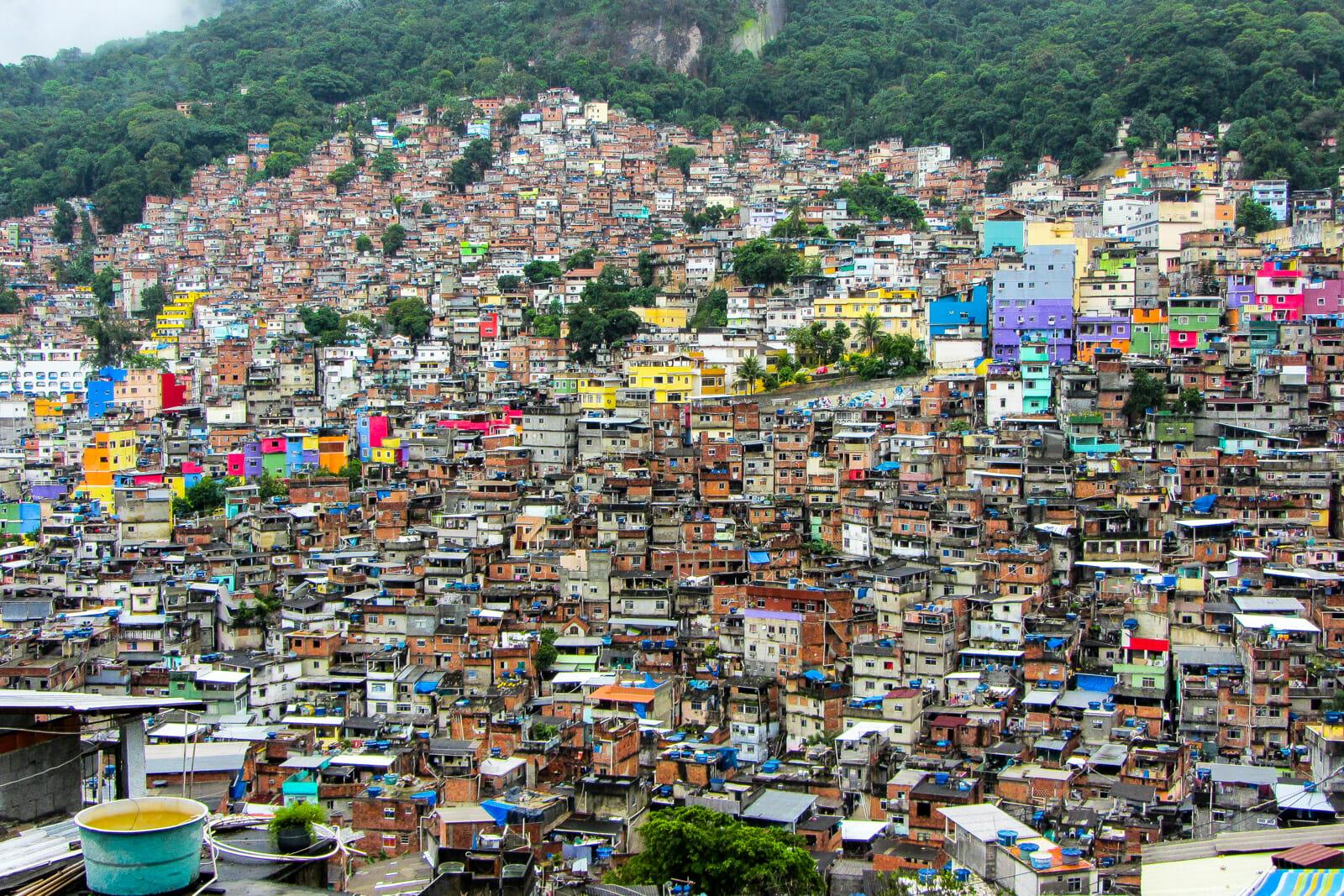 The favela tour of Rio de Janerio
