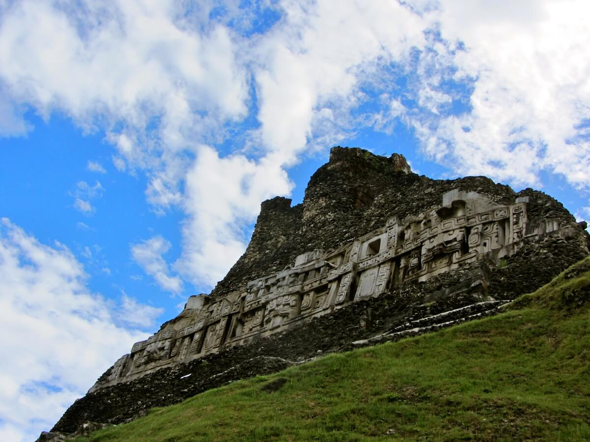 The main temple at Xunantunich