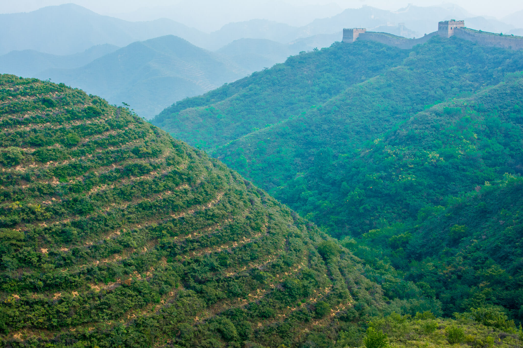 The natural landscapes of China