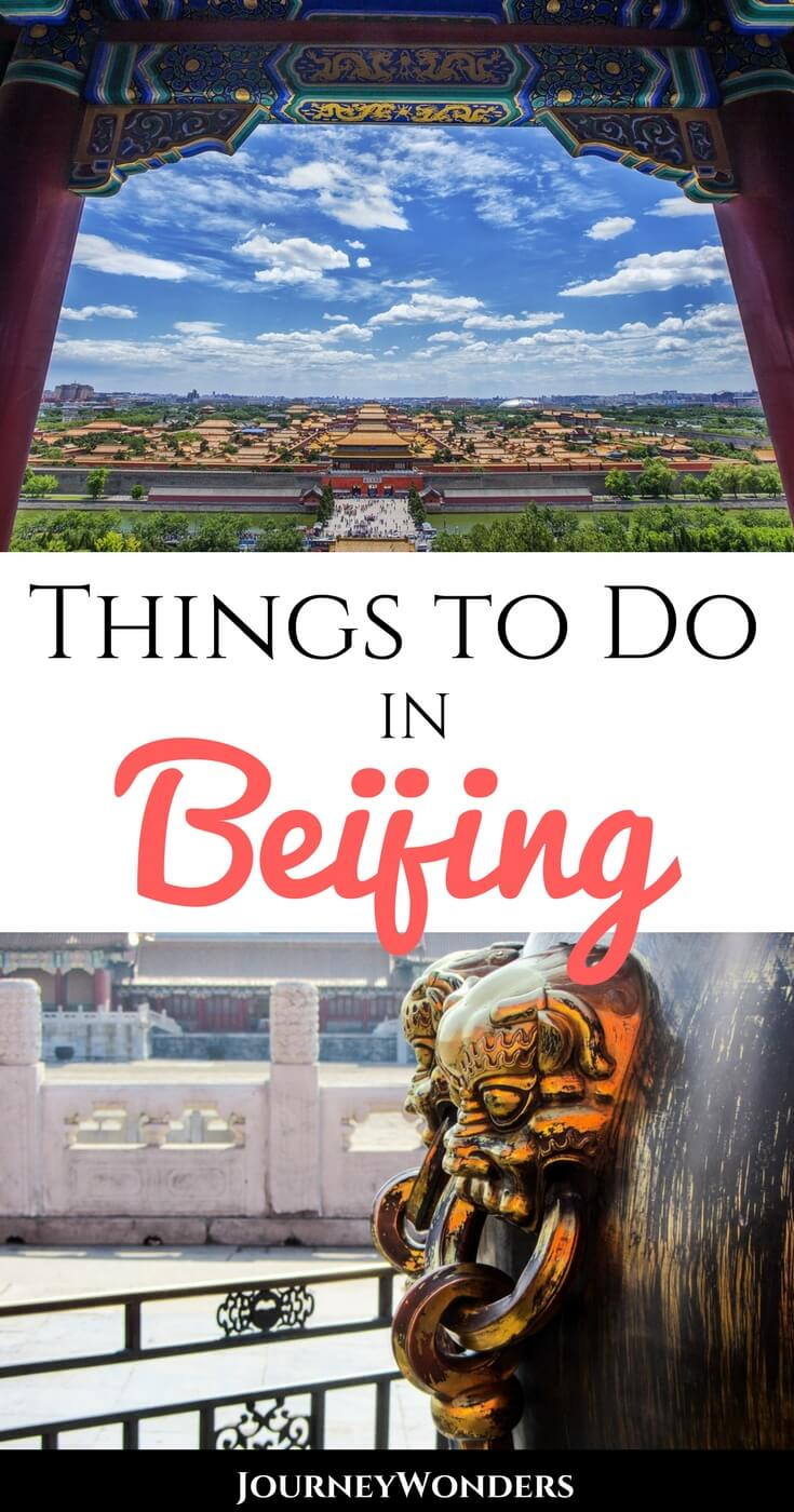 Beijing, China's capital, is full of things to do. All the best food, shopping, restaurants, architecture, city nightlife, and more in China's most vibrant city.