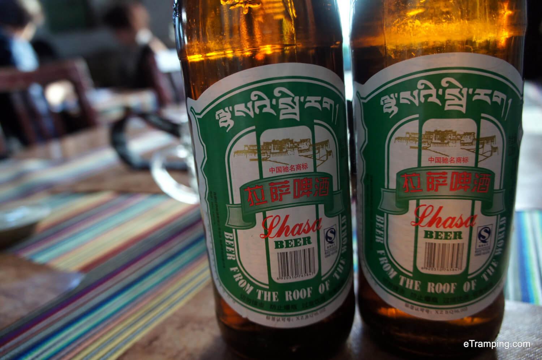 Lhasa beer Tibet