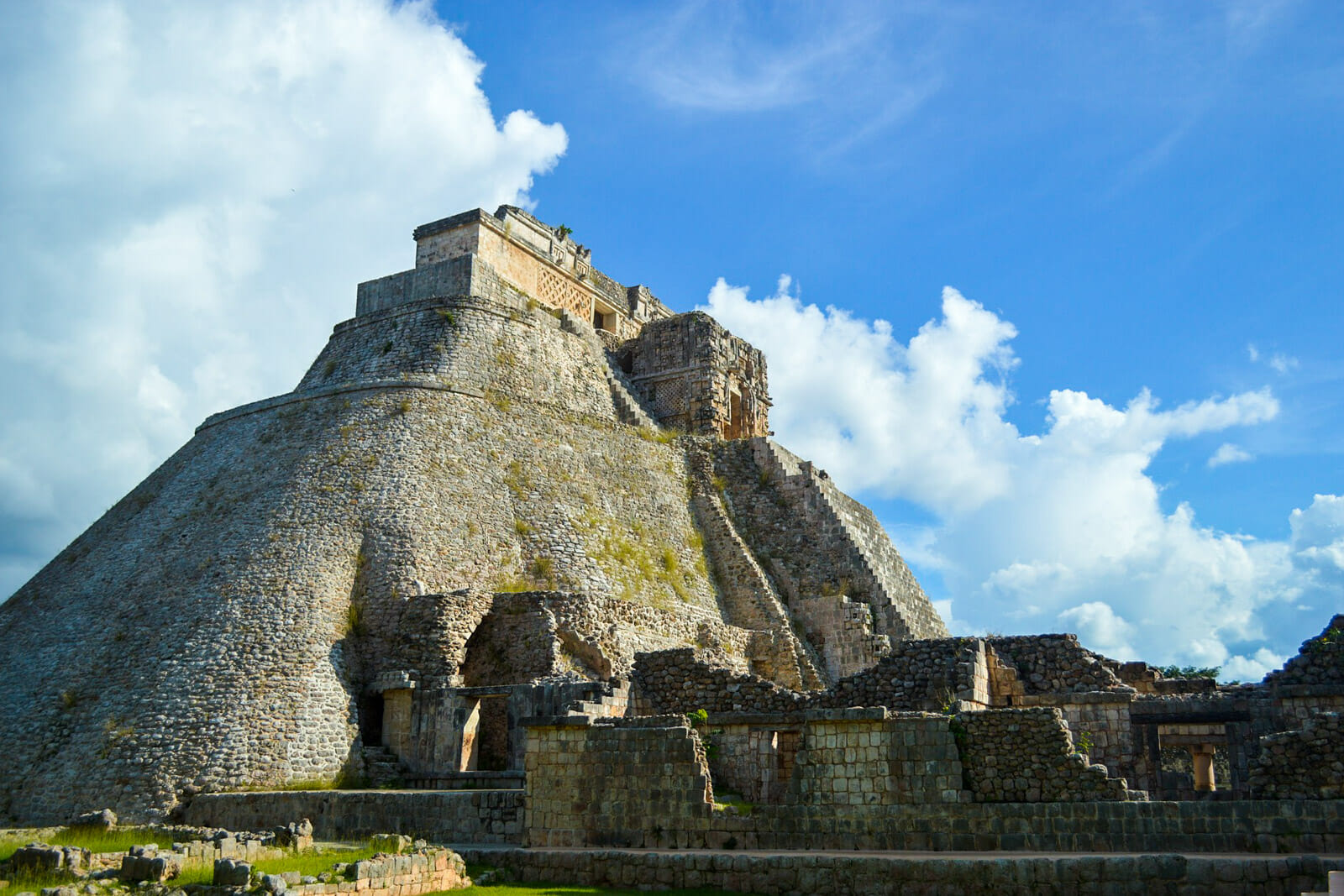 The Uxmal Pyramid of Wonders